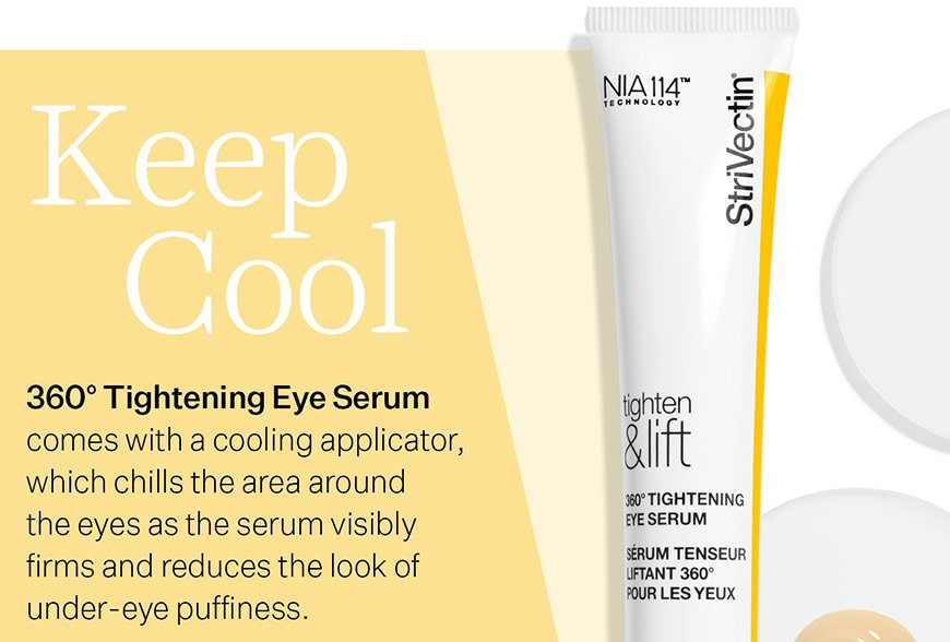 The Coolest Eye Solution to Tighten & Lift!