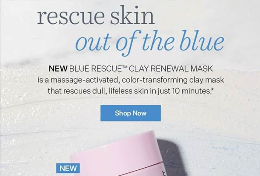 New Blue Rescue™ Mask is Here to Save the Day!